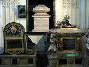 English: Westminster Abbey, Tombs