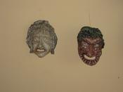 English: Commedia dell'arte masks
