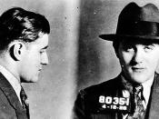 English: Mugshot of Jewish-American mobster Benjamin
