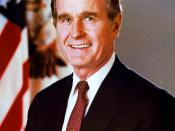 George H.W. Bush as Vice President of the United States, official portrait.