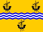 Español: Bandera Western Isles