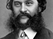Johann Strauss II with a large beard, moustache, and sideburns.