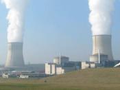 English: Nuclear power plant in Cattenom, France Deutsch: Kernkraftwerk in Cattenom, Frankreich