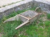 Wheelbarrow at the Freilichtmuseum Neuhausen ob Eck