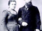 English: Casper and Cornelia ten Boom, parents of Betsie, Nollie, Willem and Corrie ten Boom