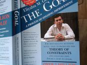 The goal by eliyahu m. Goldratt and jeff cox