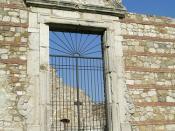 Conza della Campania (AV), 2004, Il parco archeologico.