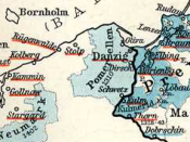 Pomerelia (Pommerellen) and Danzig while part of the monastic state of the Teutonic Knights.