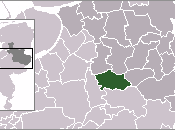 Location of Deventer