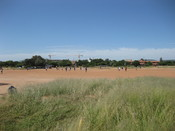 English: Intramural football match at the University of Botswana in Gaborone, Botswana