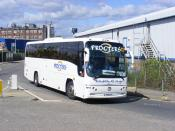Procters Coaches. Leeming Bar  149CYY  Neasden  29th-August-2009