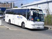 Procters Coaches .  Leeming Bar. FN05DFU  Neasden  29th-August-2009
