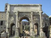 Rome: The Arch of Septimus Severus