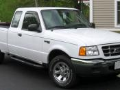 2001-2003 Ford Ranger photographed in Kensington, Maryland, USA. Category:Ford Ranger (North America)