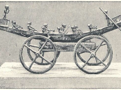 Illustration of a Votive Barque of the 17th dynasty Egyptian pharaoh Kamose