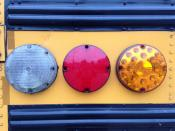 School Bus Rear Lights