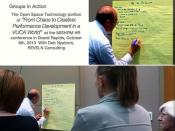 Open Space in action:  From Chaos to Creative: Performance Development in a VUCA World