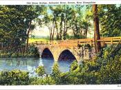 Arch Bridge, Keene NH