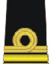 Romanian Navy Lieutenant-Commander insignia