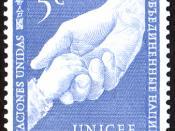 Беларуская (тарашкевіца): Марка ААН «UNICEF»