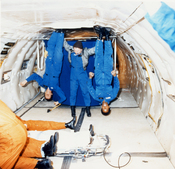 Guion Bluford Experiences Weightlessness on the KC-135 - GPN-2002-000148