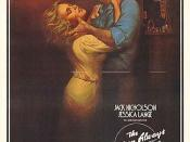 The poster for the film The Postman Always Rings Twice (1981).