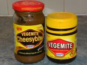 English: Vegemite and Cheesymite products from Australia