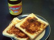 English: Vegemite on toast Deutsch: Toastbrotscheiben mit Vegemite bestrichen