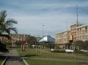 The Universidade Luterana do Brasil (Lutheran University of Brazil, also known as Ulbra) in Canoas.