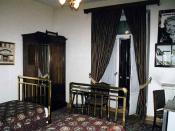 Agatha Christie's room at the Hotel Pera Palas in Istanbul, where she wrote Murder on the Orient Express