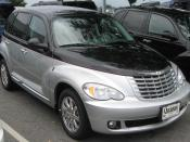 2010 Chrysler PT Cruiser photographed in Clarksville, Maryland, USA.