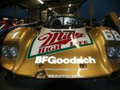 The 1989 Porsche 962 driven by Mario Andretti and Michael Andretti