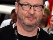 English: Lars Von Trier promoting