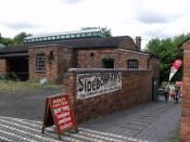 Black Country Living Museum - Dudley Canal Trust Boat Trips - Animal Trap Works - Sidebotham's - old wall advert