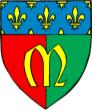 Français : Armoiries de la ville de Meaux. Dessin de l'auteur, d'après Robert Perreau et René Munsch (in