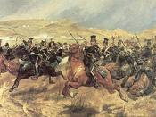 Charge of the Light Brigade. An example of the artistic glorification of death.