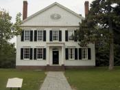 Noah Webster House.