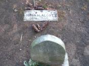 English: Grave of American writer Louisa May Alcott, Sleepy Hollow Cemetery, Concord, Mass. Taken on her birthday.