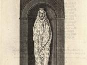 Wenceslas Hollar - John Donne (monument)