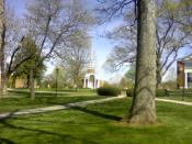 English: Lynchburg College Grounds