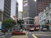 Old Market Square (Medan Pasar) in central Kuala Lumpur, Malaysia.