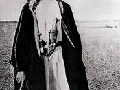 T.E. Lawrence (also known as Lawrence of Arabia) led the Arab revolt forces in the Battle of Aqaba.