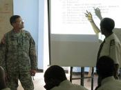Top enlisted U.S. Army Africa Soldiers lecture in Ethiopia 090724