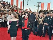 Drew Barrymore and Corey Feldman