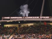 English: Unveiling of the Gregan-Larkham stand at Canberra Stadium on 28 April 2007.