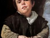 Diego Velazquez: The Dwarf Francisco Lezcano, Called