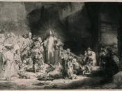 De predikende Christus (De Honderd Gulden prent). De predikende Christus (De Honderd Gulden prent) - Rijksmuseum Amsterdam - Nationaal Museum voor Kunst en Geschiedenis. 1816colon