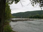 The Potomac River at Harper's Ferry, WV