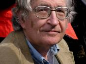 English: A portrait of Noam Chomsky that I took in Vancouver Canada. Français : Noam Chomsky à Vancouver au Canada en 2004.