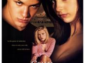 Film poster for Cruel Intentions - Copyright 1999, Columbia Pictures